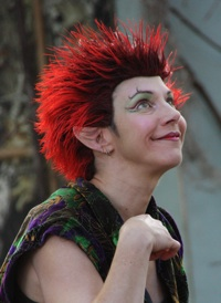 Melanie Uhlir as Puck