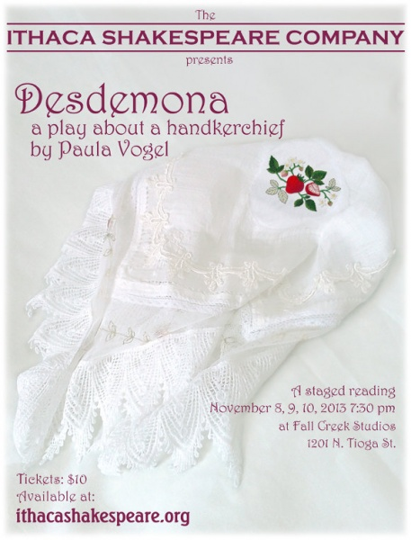 Desdemona, A Play About A Handkerchief (2013)
