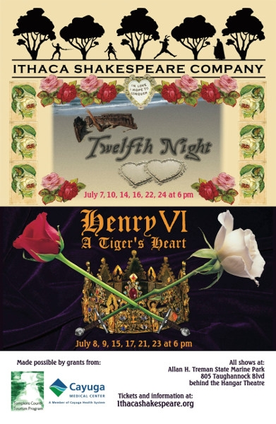 Summer 2016: Henry VI / Twelfth Night (2016)