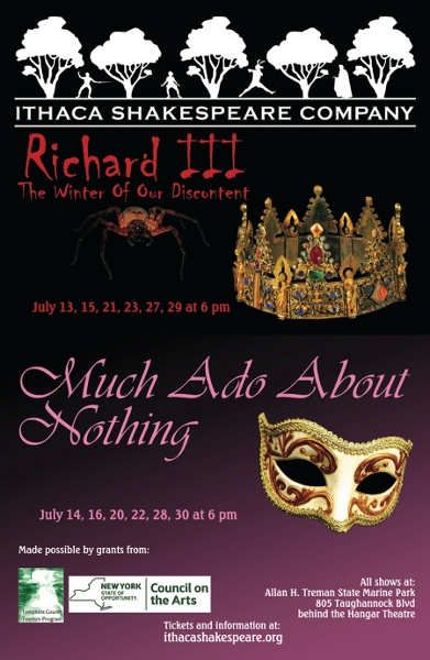 Summer 2017: Richard III / Much Ado About Nothing (2017)