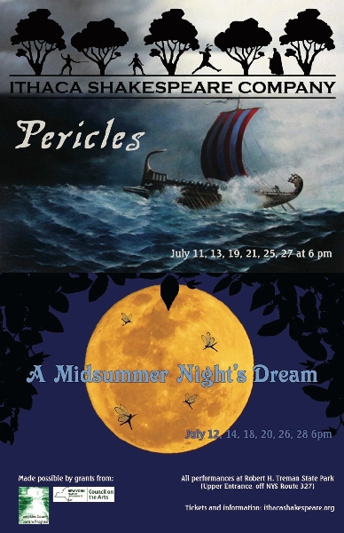 Summer 2019: Pericles and A Midsummer Night's Dream (2019)